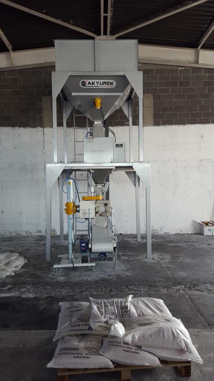 НОВИНКА! Заполнение химических удобрений в полипропиленовые пакеты 25-50 кг
